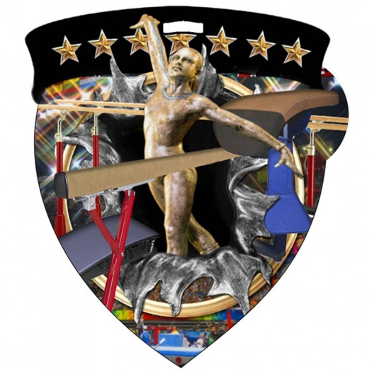 Color Shield Medal - Female Gymnastics