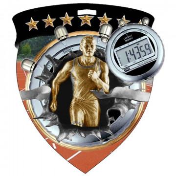 Color Shield Medal - Male Track