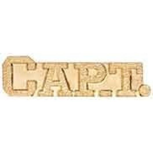 Captain Chenille Pin