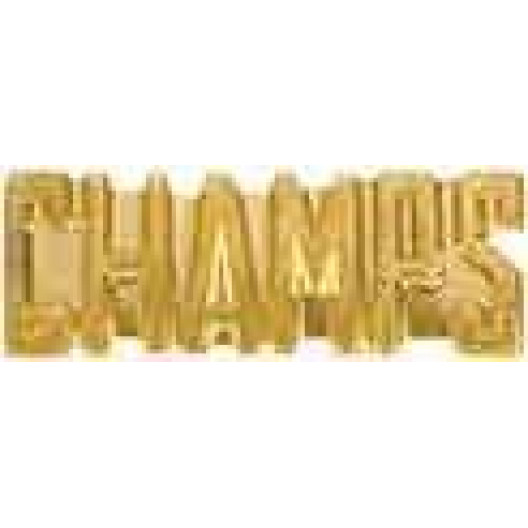 Champs Chenille Pin