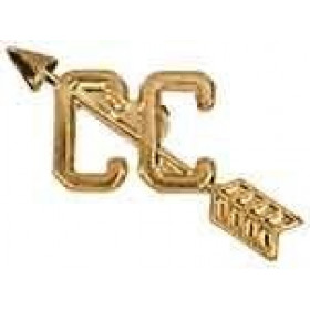Cross Country Chenille Pin