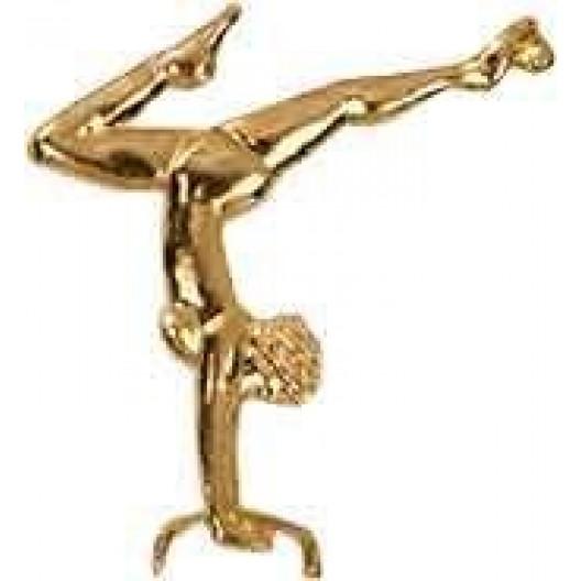 Gymnastics Chenille Pin - Female