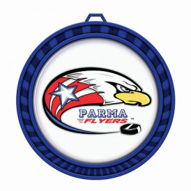 "Custom 2.5"" Vibrant Color Medal"