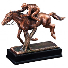 Resin Racing Jockey