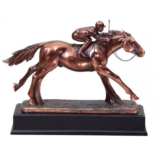 Resin Horse & Jockey