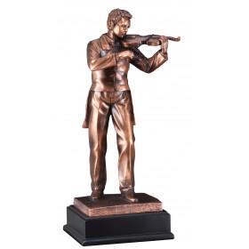 Male Violinist Resin