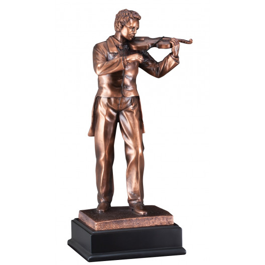 Male Violinist Resin