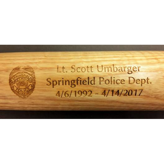 Engraved Baseball Bat