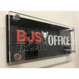 Acrylic Two Layer Wall Sign