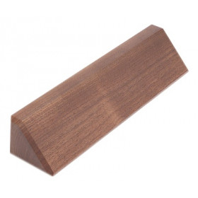 Walnut Desk Wedge - 10""