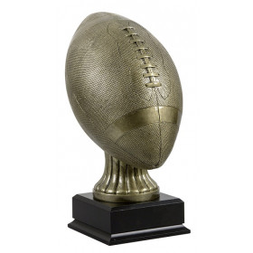 Premium Antique Gold Football Trophy