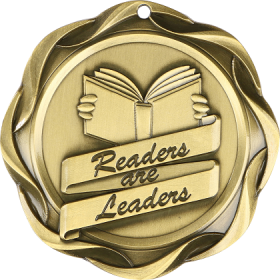 Fusion Medal - Readers Are Leaders