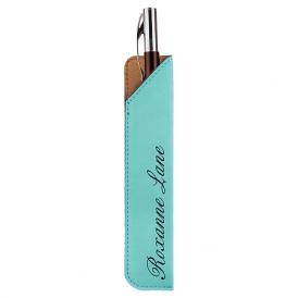 Leatherette Pen Sleeves