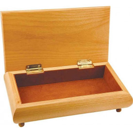 Red Alder Gift Boxes with Brown Velvet Lining