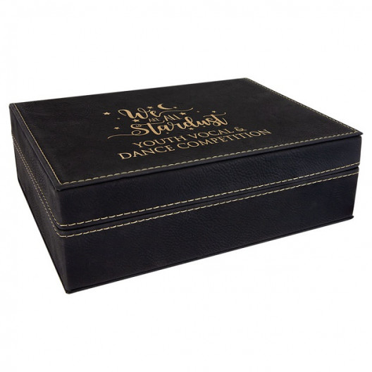 Premium Full Laserable Leatherette Gift Box