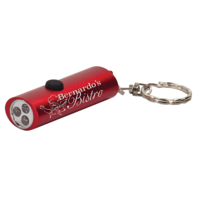 3-LED Flashlight with Keychain