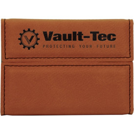 Leatherette Hard Card Cases