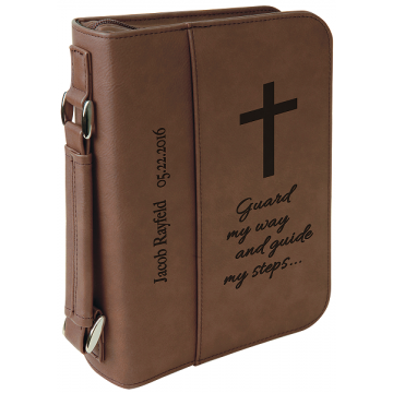 Leatherette Book/Bible Covers with Zipper