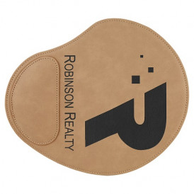 Laserable Leatherette Mouse Pads