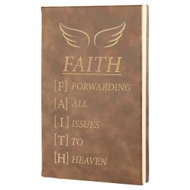 Laserable Leatherette Journals