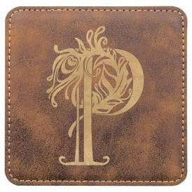 Leatherette Coasters