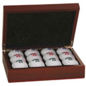 Rosewood Finish Golf Box