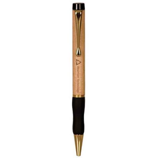 Wooden Ballpoint Pens with Gripper