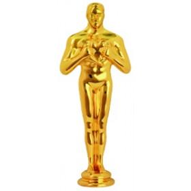 Gold Solid Metal Achievement Figure