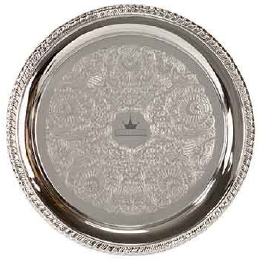 Chrome-Plated Tray