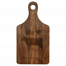 Paddle Shape Cutting Board