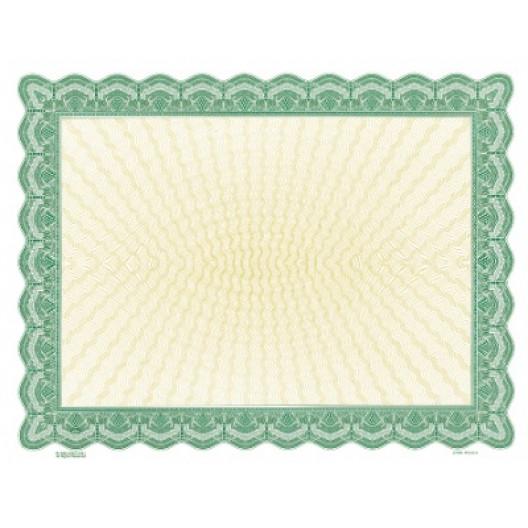 Bison Series Blank Certificate