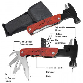 Hammer Multi-Tool with Wood Handle/Bag