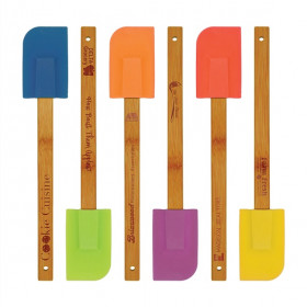 Silicone Spatula with Bamboo Handle Sample Set