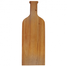 Acacia Wood/Slate Serving Board with Two Tools