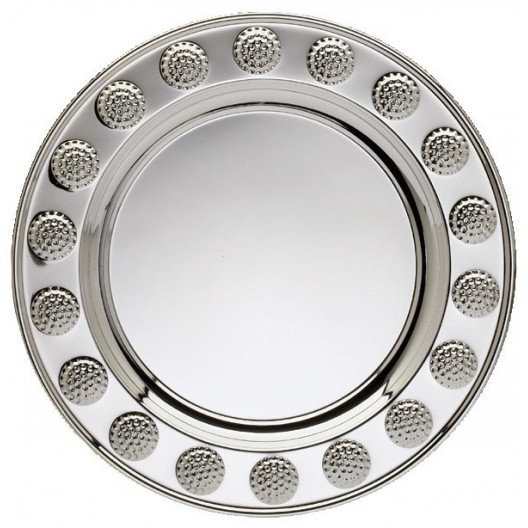 Silver Plated Golf Tray