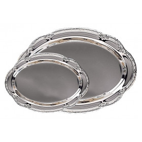 Decorative Silver Plated Tray