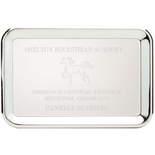 Chrome Plated Rectangle Tray
