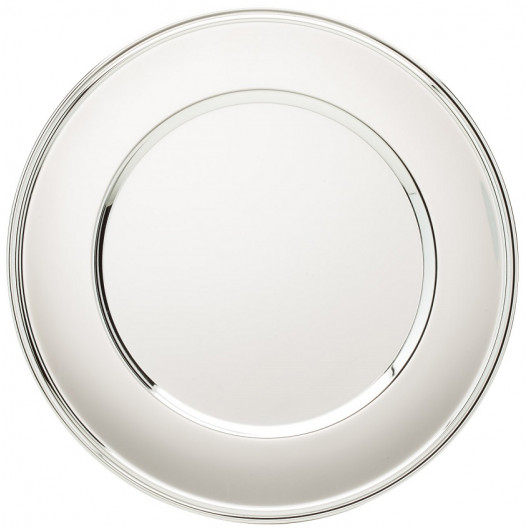 Chrome Plated Round Tray