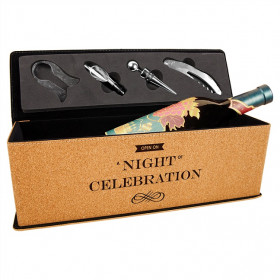 Single Wine Box with Tools