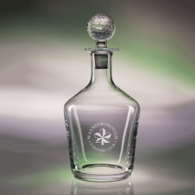34 oz. Craft Decanter - Golf