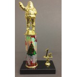 Santa Trophy with Place Trim