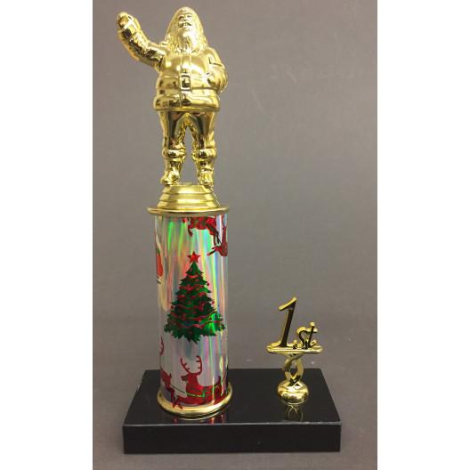 Santa Trophy with Place Trim