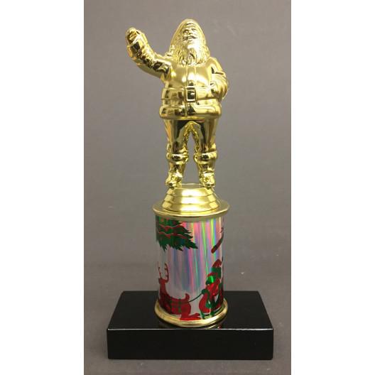"""Santa Trophy on 3"""" Riser"""