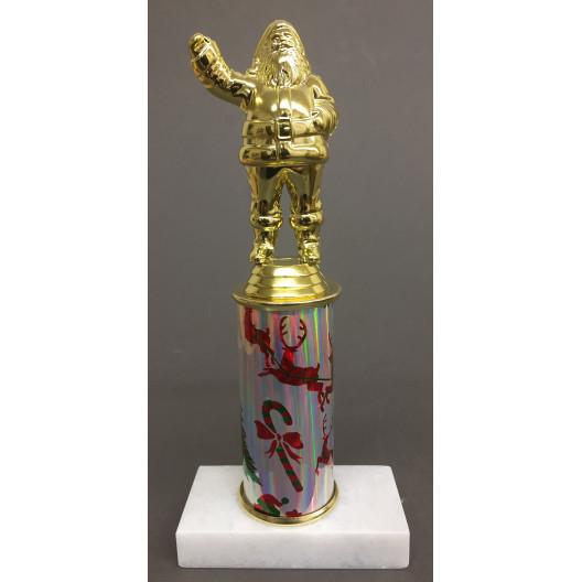 """Santa Trophy on 4"""" Riser"""