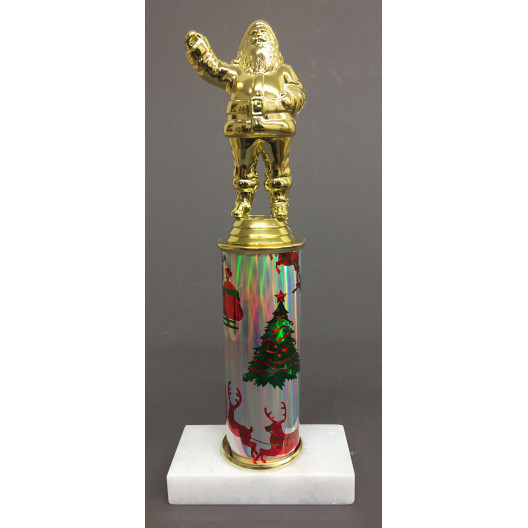 """Santa Trophy on 5"""" Riser"""