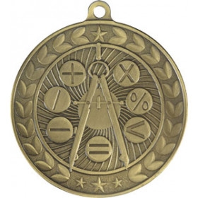 Illusion Medal - Math