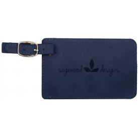Leatherette Luggage Tag