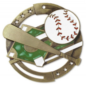 Baseball M3XL Medal