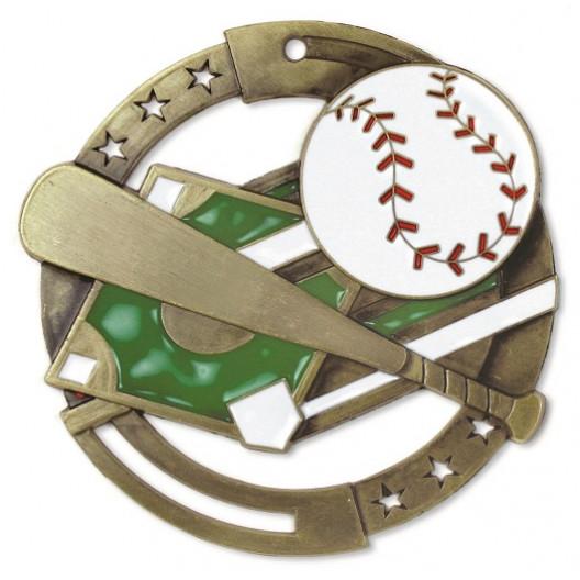 Baseball M3XL Medal