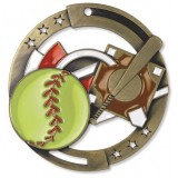 Softball M3XL Medal